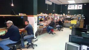 repair, service, workshop, led, microwave, audio